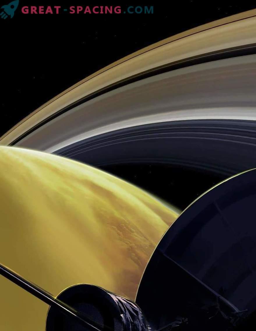 Los vuelos cercanos de Saturno revelan los secretos del planeta y sus anillos