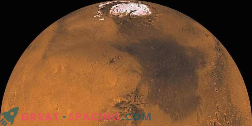 Los meteoritos marcianos indican la humedad del planeta rojo
