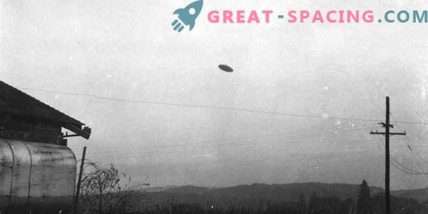 Incidente en Oregon - 1950. ¿Podría un agricultor tomar una fotografía de un objeto no identificado