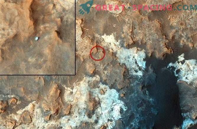 Mars rover dejó de dejar huellas en la superficie de Mars