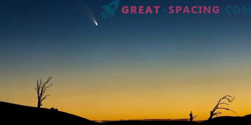 Ralentización de la rotación del cometa al acercarse a la Tierra