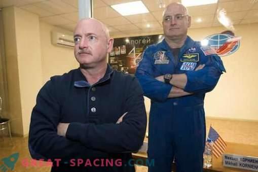 Nuevos datos sobre experimentos con astronautas gemelos