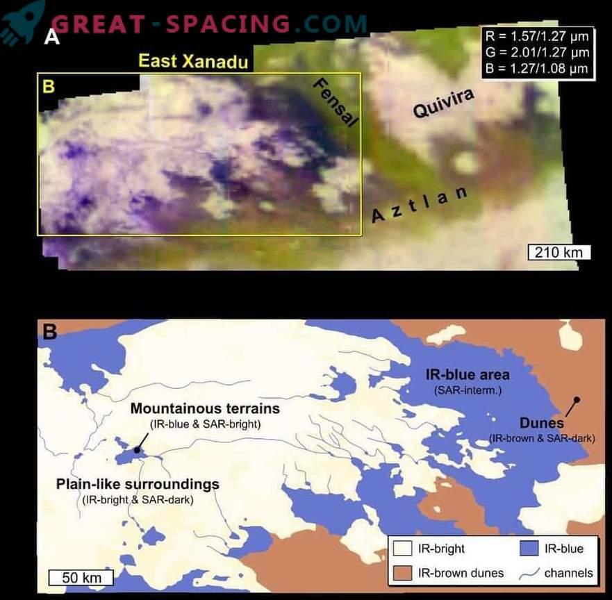 Nuevos detalles del proceso geológico de las dunas de Titán