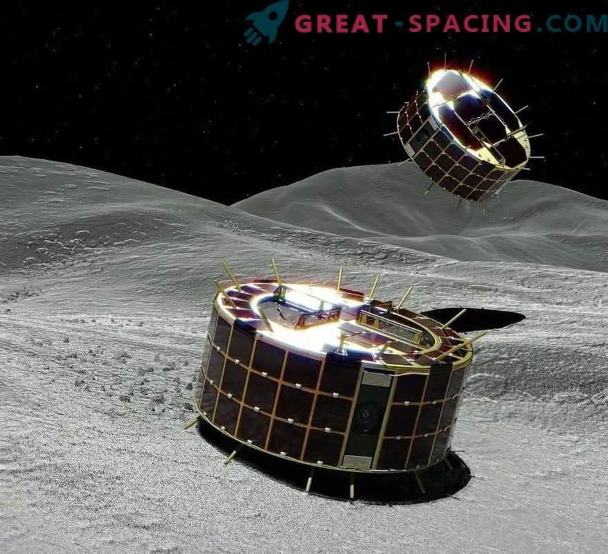Vistas asombrosas del asteroide Ryugu desde robots japoneses