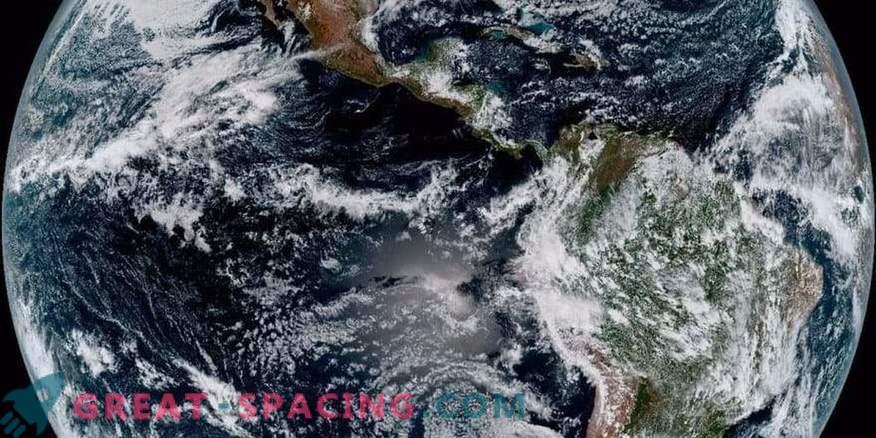 Vista impresionante del planeta desde un nuevo satélite meteorológico