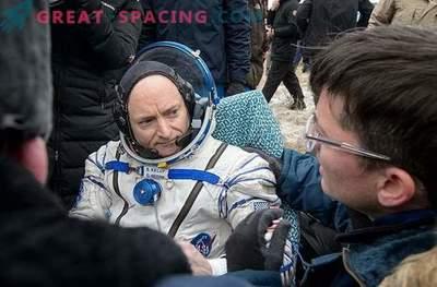 Scott Kelly habló sobre sus impresiones después de un año en el espacio