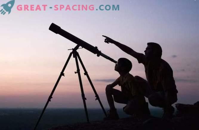 Lo que se puede ver con el telescopio doméstico