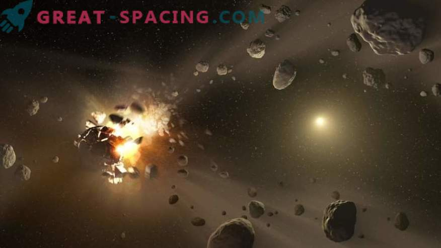 ¿Qué tan peligroso es volar a través del cinturón de asteroides