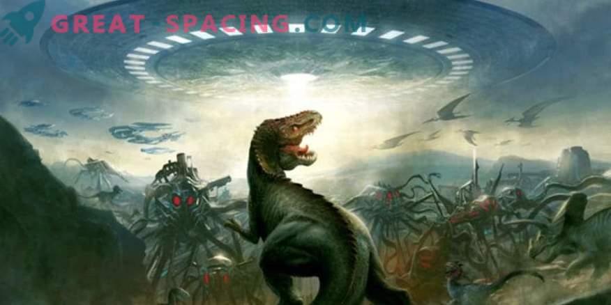 ¿Pueden las civilizaciones extraterrestres ver dinosaurios en la Tierra