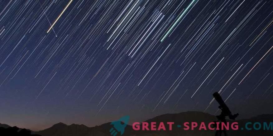 ¡Prepárate para un espectáculo de meteoros!