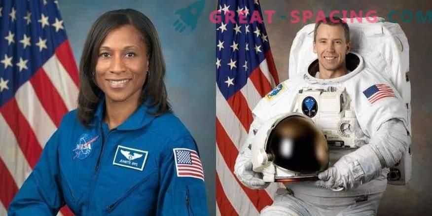 Astronautas seleccionados para la misión espacial 2018