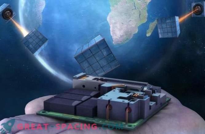 Un pequeño satélite es el primer paso para una red cuántica global