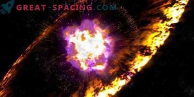 Los astrónomos primero registraron una explosión de supernova en detalle.