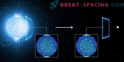 En el magnetismo extremo de una estrella de neutrones, se notaron
