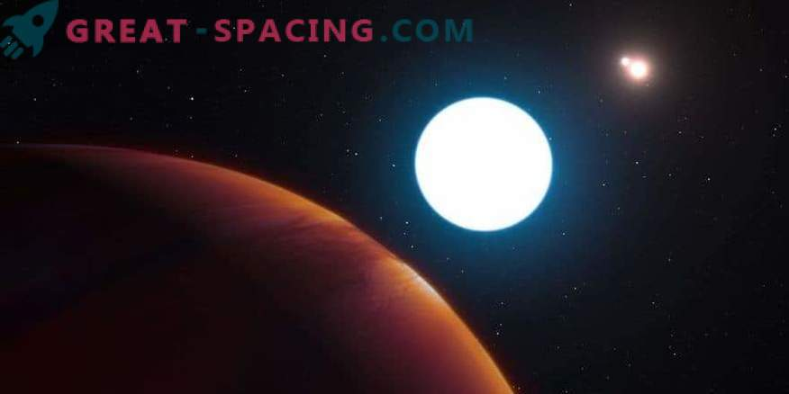 Dos planetas masivos