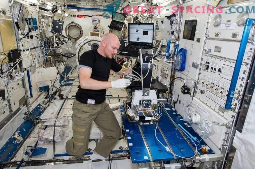 Inteligencia artificial en la ISS