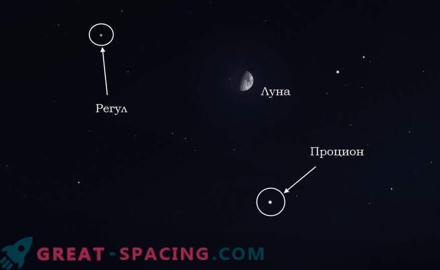 ¿Qué cuerpos celestes se pueden observar el 15 de abril de 2019