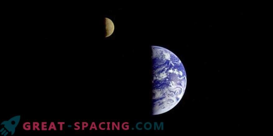 El turista lunar está entusiasmado con las vistas futuras de la Tierra
