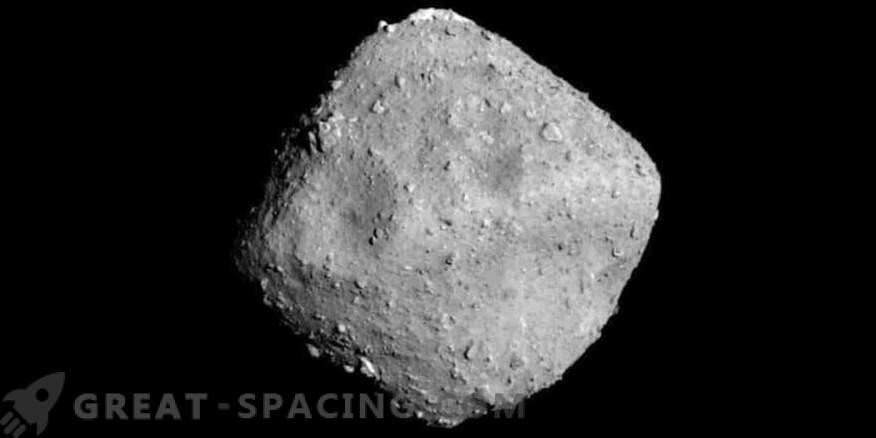 La nave espacial se está preparando para disparar un asteroide