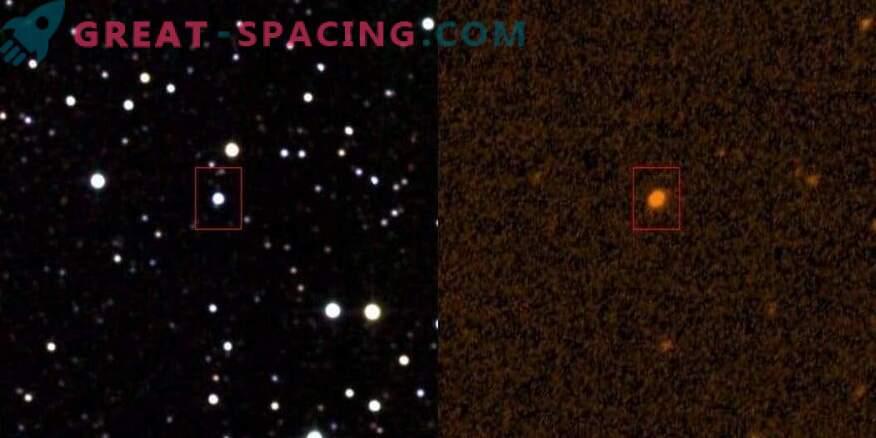 ¿La estructura alienígena se superpone a la estrella?
