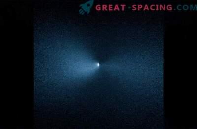 Hubble vio la rotación del cometa después de su paso