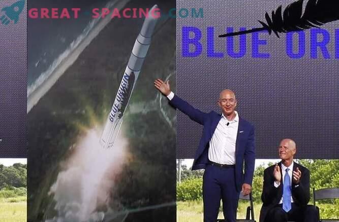 El fundador de Amazon, Jeff Bezos, lanzará cohetes espaciales desde Florida