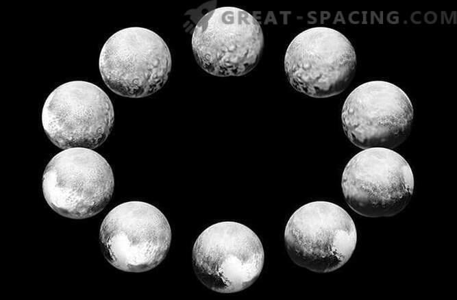 Mission New Horizons mostró un día completo de Plutón y Caronte