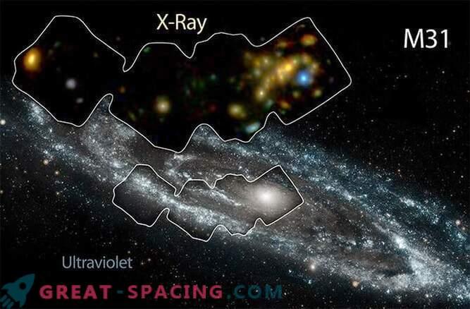 La galaxia de Andrómeda se calienta con