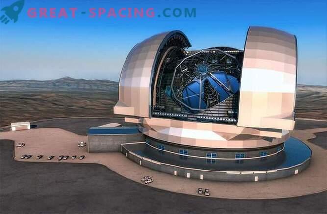 Se inició la construcción del telescopio más grande del mundo