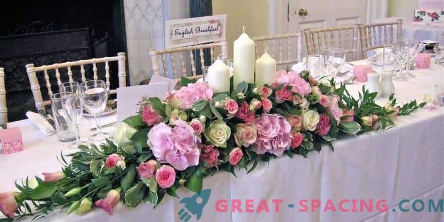 Cómo decorar una celebración de boda con flores: consejos de floristería