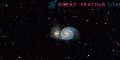 Se encontró una nube gigante de hidrógeno ionizado en la galaxia Whirlpool