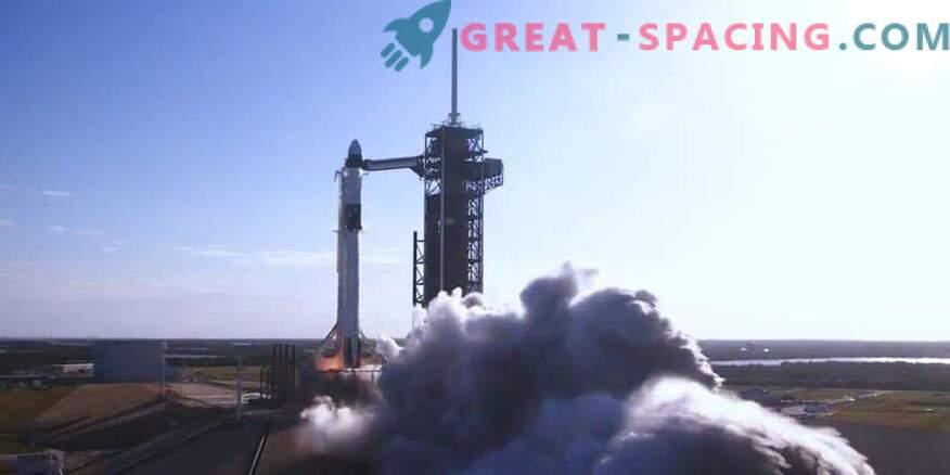 El lanzamiento de la prueba de cápsula de tripulación de SpaceX está programado para febrero
