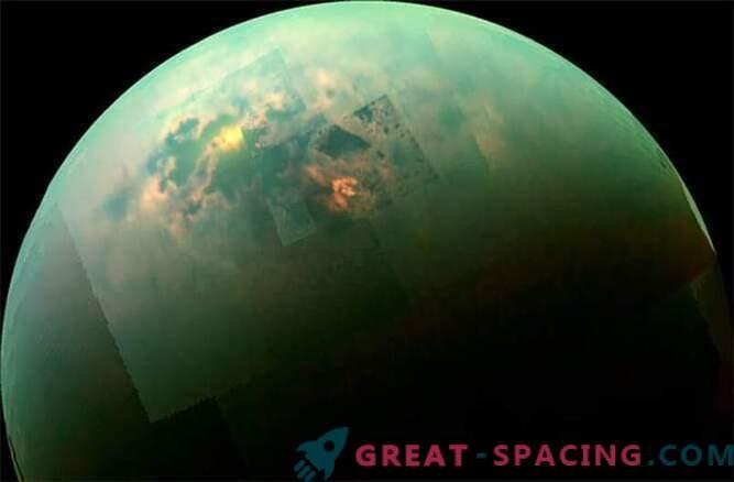 Cassini vio un día soleado en los mares de Titán