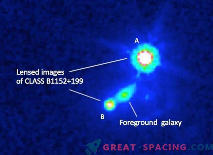 Los científicos encuentran el campo magnético de una galaxia remota