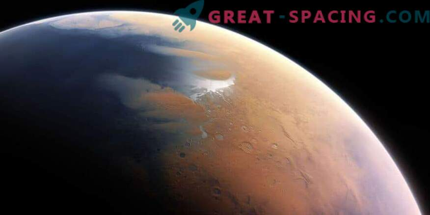 Marte temprano muestra un desierto cálido con lluvias ocasionales