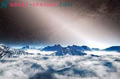 Luz exosodiacal detectada alrededor de zonas habitadas de otros mundos