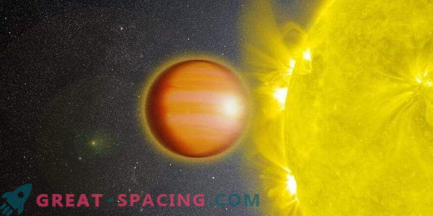 La estratosfera exoplanetaria está exenta de agua