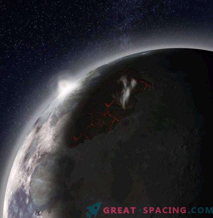 La Luna antigua tenía una atmósfera