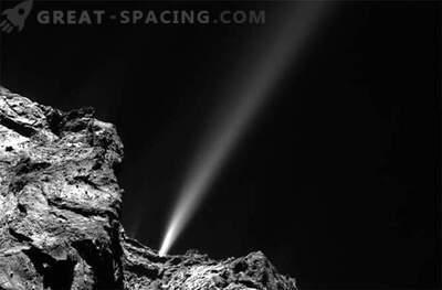 El cometa Rosetta ha lanzado el avión más brillante hoy.