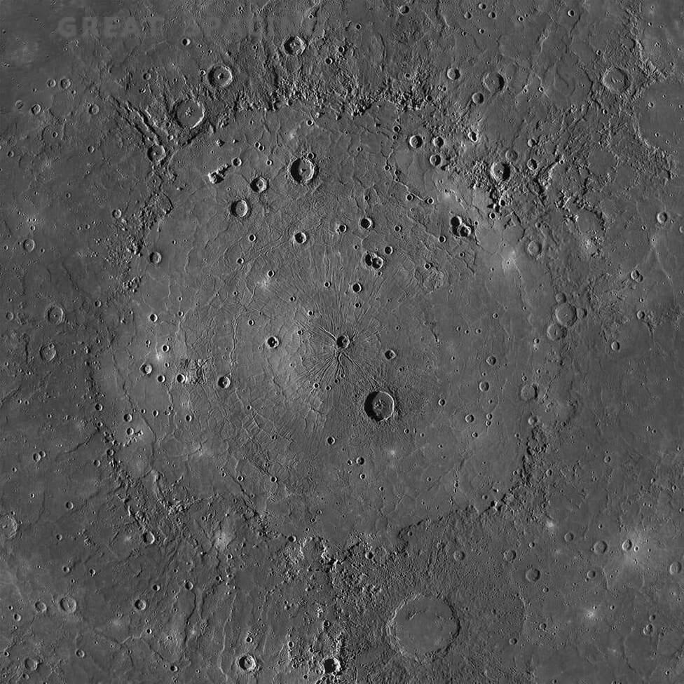 Un paisaje extraño muestra que Mercurio no es un planeta