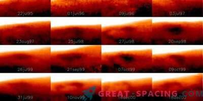 A huge cold spot was found on Jupiter
