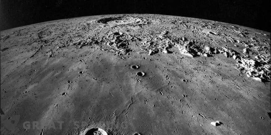 La huelga de un meteorito antiguo revela el interior lunar