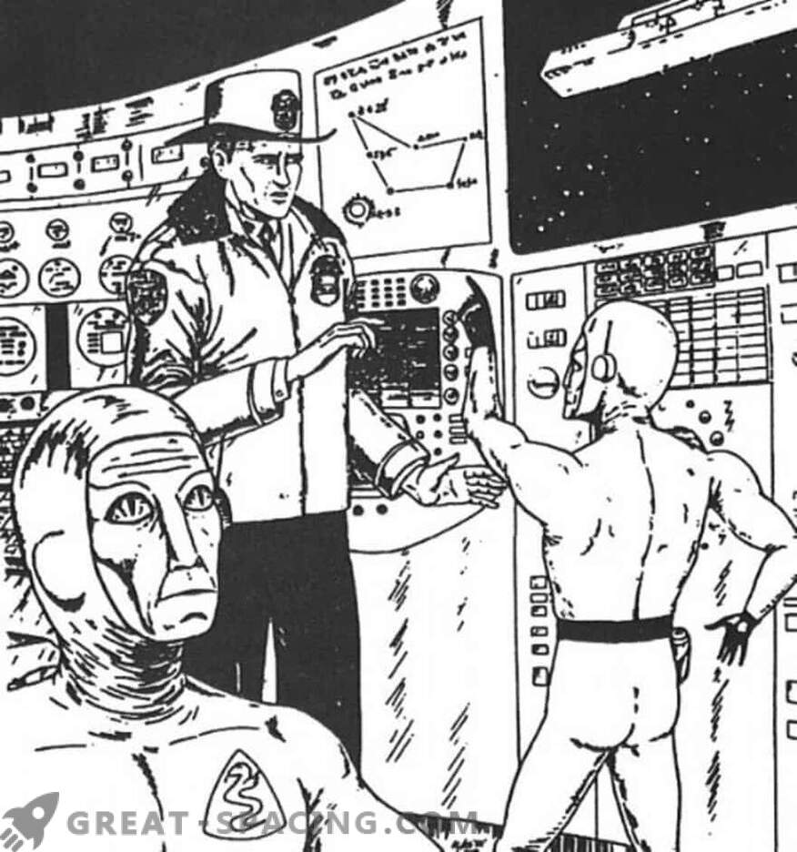 Incidente en Nebraska - 1967. El policía cree que estaba en una nave espacial